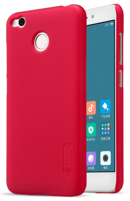 Nillkin Frosted Shield Xiaomi Redmi 4X - Red, картинка 1