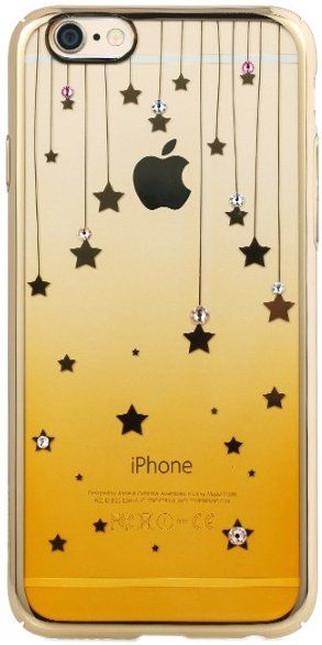 Чехол REMAX iPhone 6/6s Diamond Color Star - Gold
