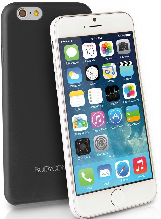 Чехол Uniq Bodycon iPhone 6 Ultra Slim 0.3 - Black