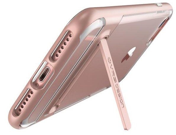 VERUS Чехол iPhone 7 Plus Crystal Crystal Bumper Rose Gold, картинка 2