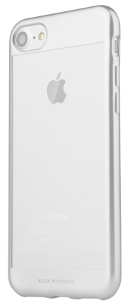 VIVA iPhone 7 Metalico Borde Case TPU Silver, картинка 2