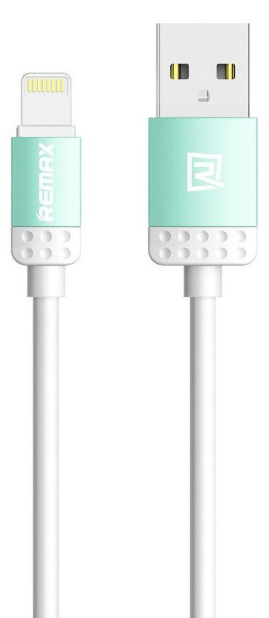 Кабель REMAX Lovely Data Lightning Cable 1.0m - Blue