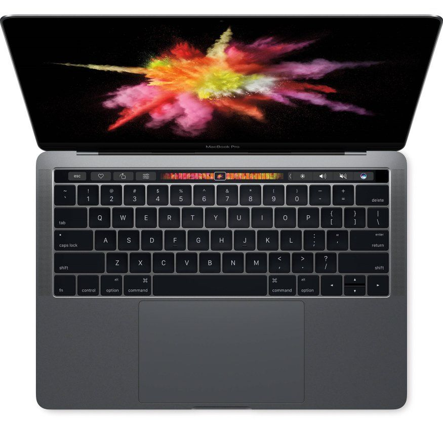 "Apple MacBook Pro 13"" Touch Bar 256 GB SSD Space Grey (MPXV2)"