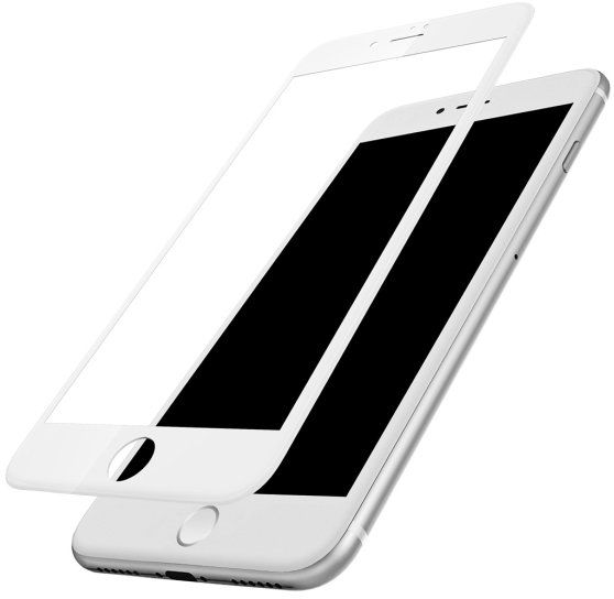 BASEUS 3D Tempered Glass 7 Plus PET - White, картинка 2