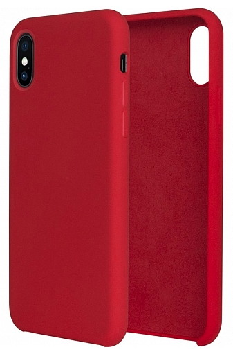 WK DESIGN iPhone X Silicon case - Red, картинка 1