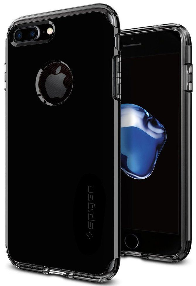 SGP Чехол iPhone 7 Hybrid Armor Jet Black