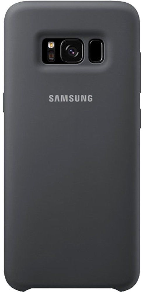 Чехол  Samsung Galaxy S8+ Silicone Cover - Dark Gray