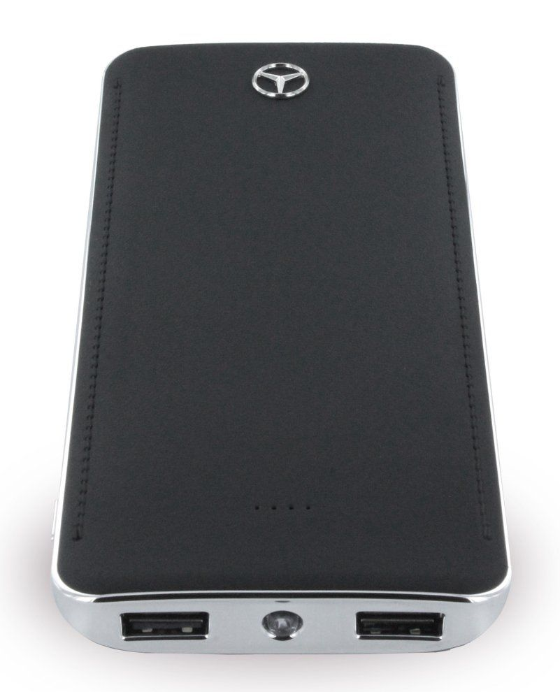 Mercedes Portable Battery Charger 10.000 mAh - Black, картинка 2