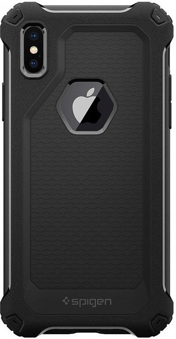 SGP Чехол iPhone X Rugged Armor Extra Black