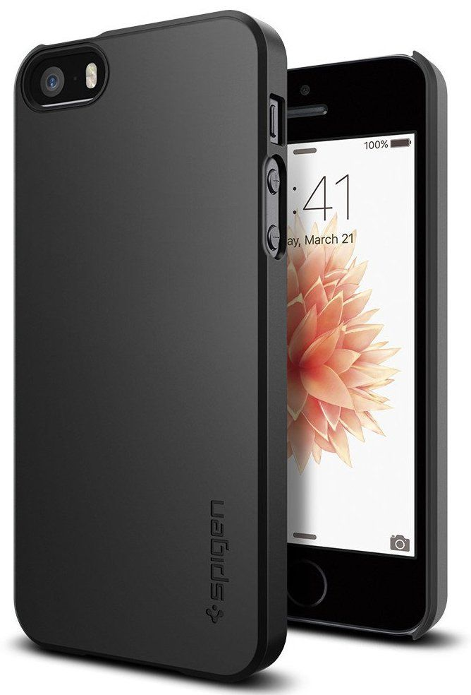 SGP  iPhone 5S/SE Thin Fit Black