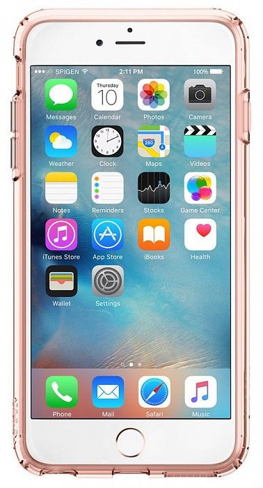 SGP iPhone 6 Plus Ultra Hybrid (PET) - Rose Crystal