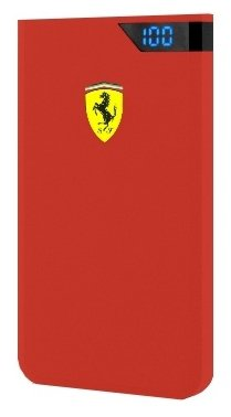 Ferrari Portable Charger 10000 mAh - Red, картинка 1