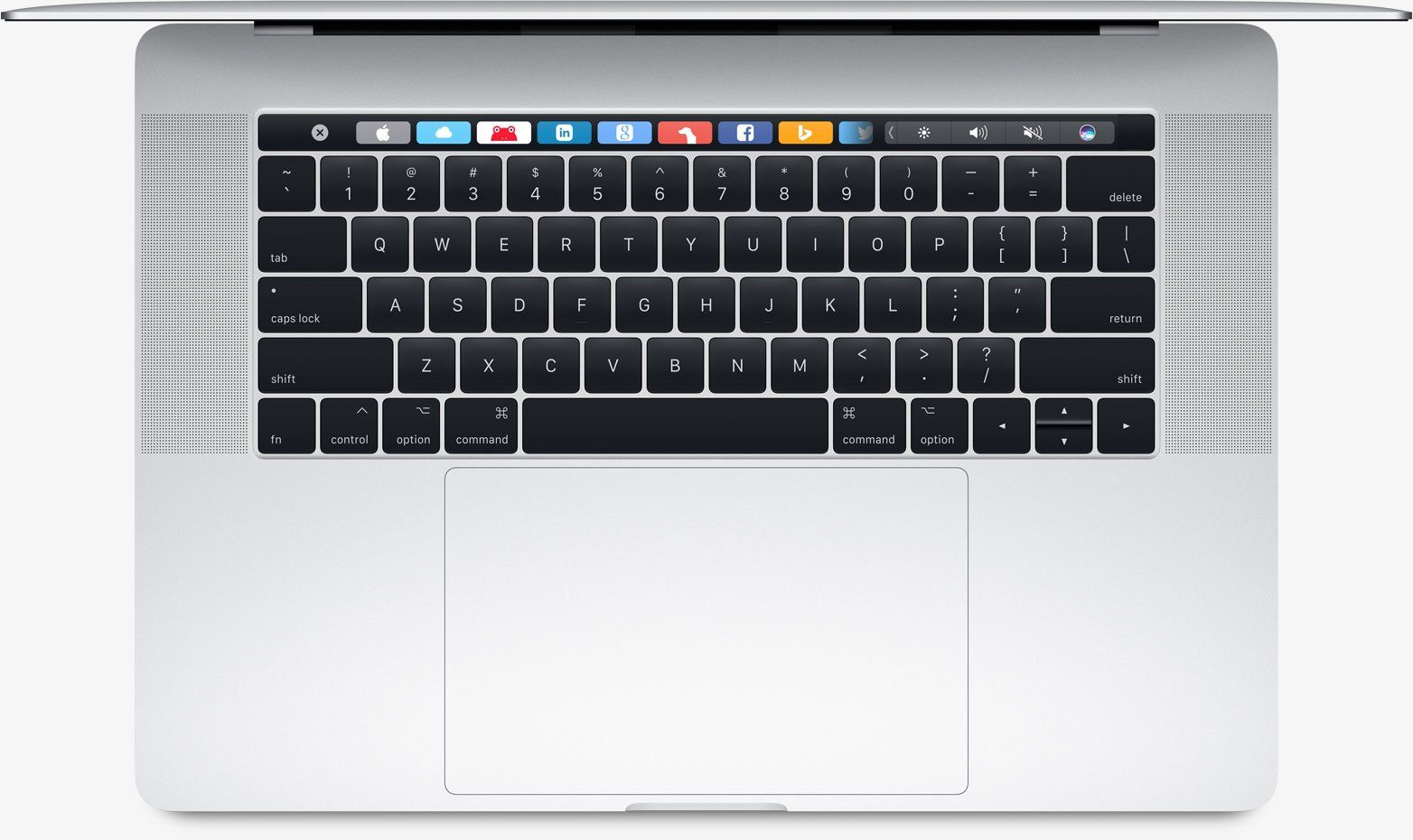 "Apple MacBook Pro 15"" Touch Bar 256 GB SSD Silver (MPTU2), картинка 5"