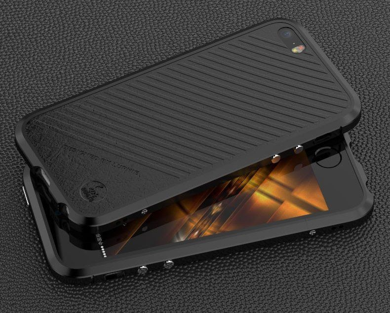 Luphie iPhone 5S/SE Bumper - Black, картинка 2
