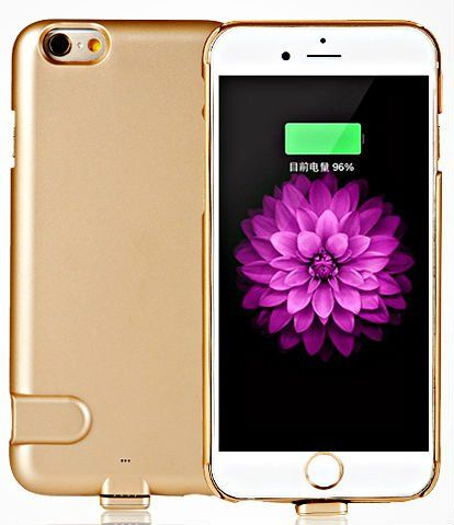 HEDDY для iPhone 6 Battery Case 1500mA - Gold, картинка 1