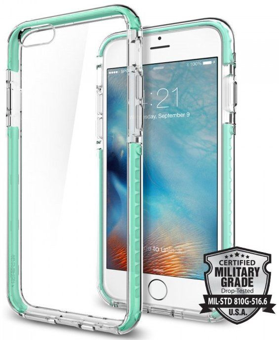 SGP iPhone 6S Ultra Hybrid Tech - Green