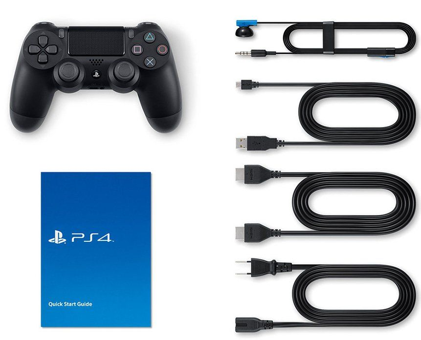 Sony PlayStation 4 Slim 1TB Black, картинка 3