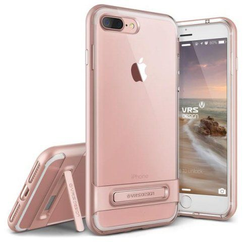 VERUS Чехол iPhone 7 Plus Crystal Crystal Bumper Rose Gold, картинка 1