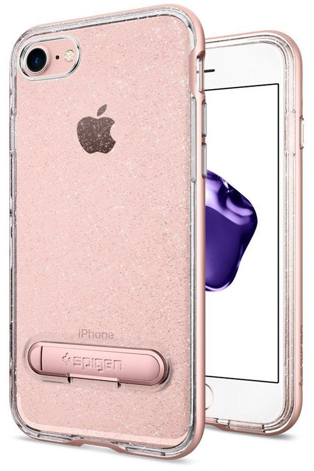 SGP Чехол iPhone 7 Plus Crystal Hybrid Glitter Rose Quartz