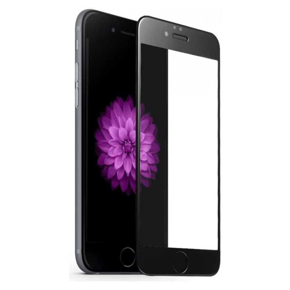iPhone 6/6S Tempered Glass Film 3D Black, картинка 2