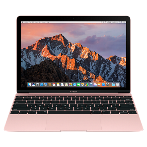 "Apple MacBook 12"" Retina 512 SSD Rose Gold (MMGM2), картинка 1"