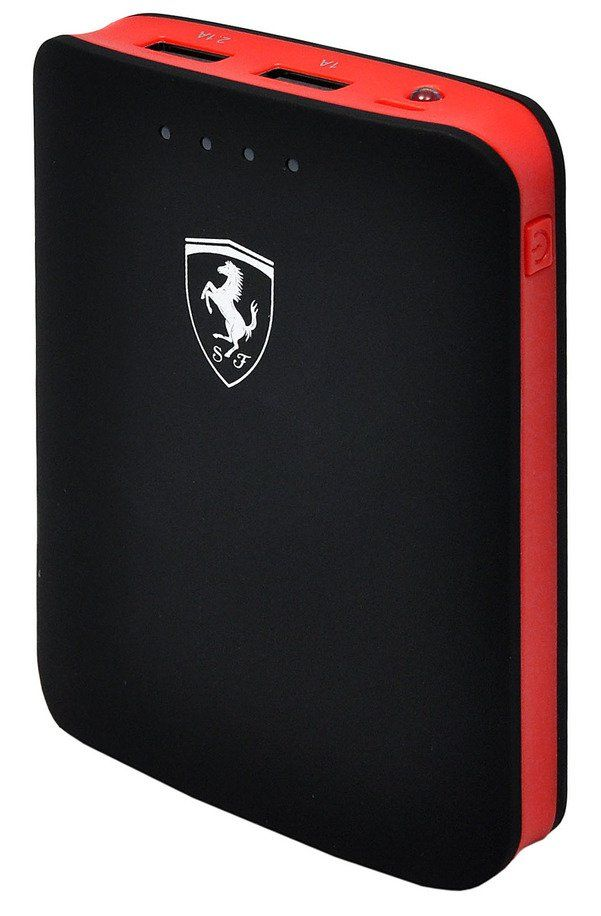 Ferrari Portable Charger 10400 mAh - Black