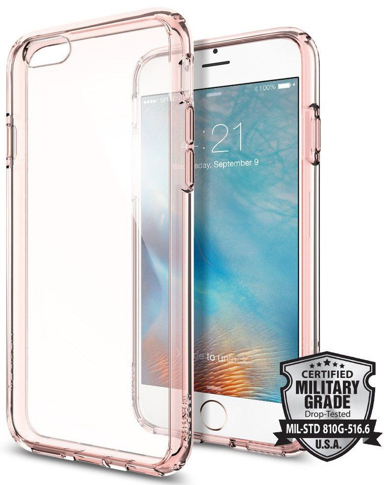SGP iPhone 6S Ultra Hybrid - Rose Crystal