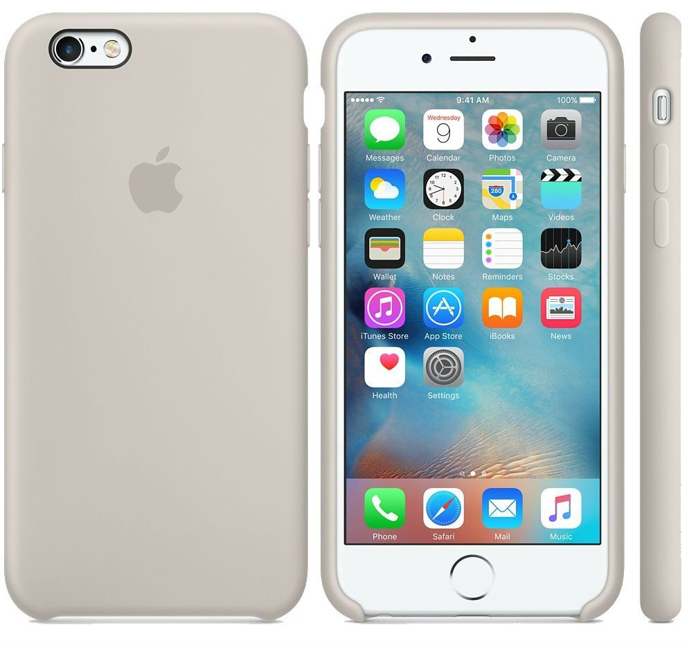 Apple iPhone 6 Silicone Case - Rose Grey, картинка 2
