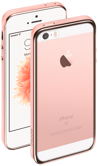 Deppa iPhone 5S/SE Gel Plus Case - Rose Gold, картинка 1