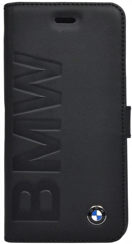 BMW iPhone 6 Logo Signature Booktype - Black, картинка 1