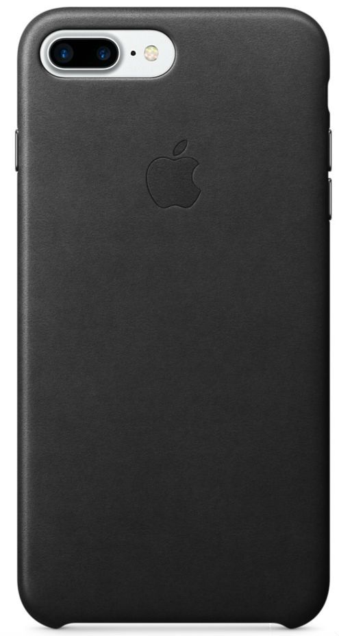 Apple iPhone 7 Plus Leather Case Black, картинка 1