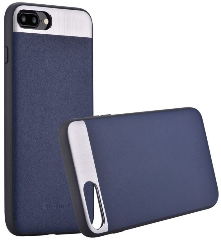 Cooma iPhone 7 Vivid Leather Case - Blue, картинка 3