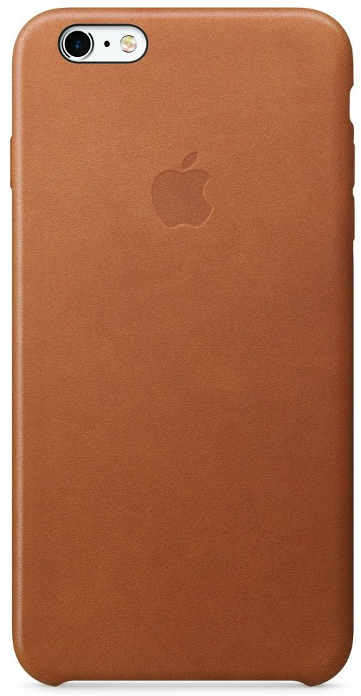 Apple iPhone 6 Plus Leather Case - Brown, картинка 1
