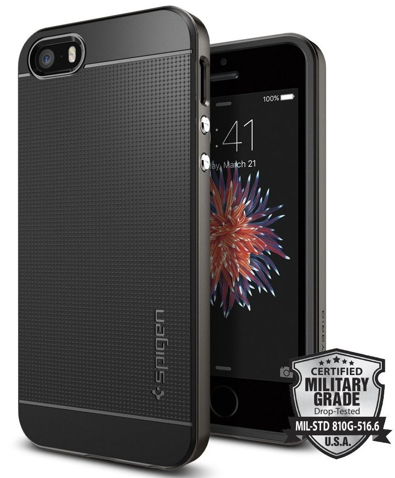SGP  iPhone 5/5S Neo Hybrid Crystal -  Gunmetal