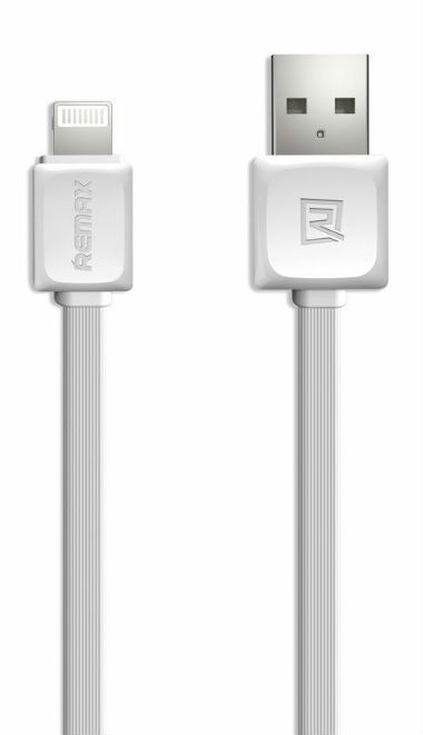 REMAX Fast Data Lightning Cable 1.0m - White, картинка 1