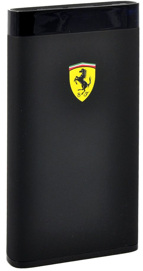 Ferrari Portable Battery Charger 12000 mAh LED - Black, картинка 2