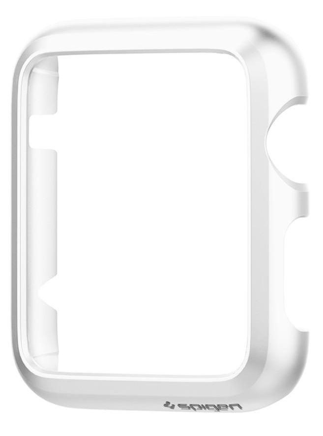 SGP Apple Watch 38mm Case Thin Fit - White, картинка 4