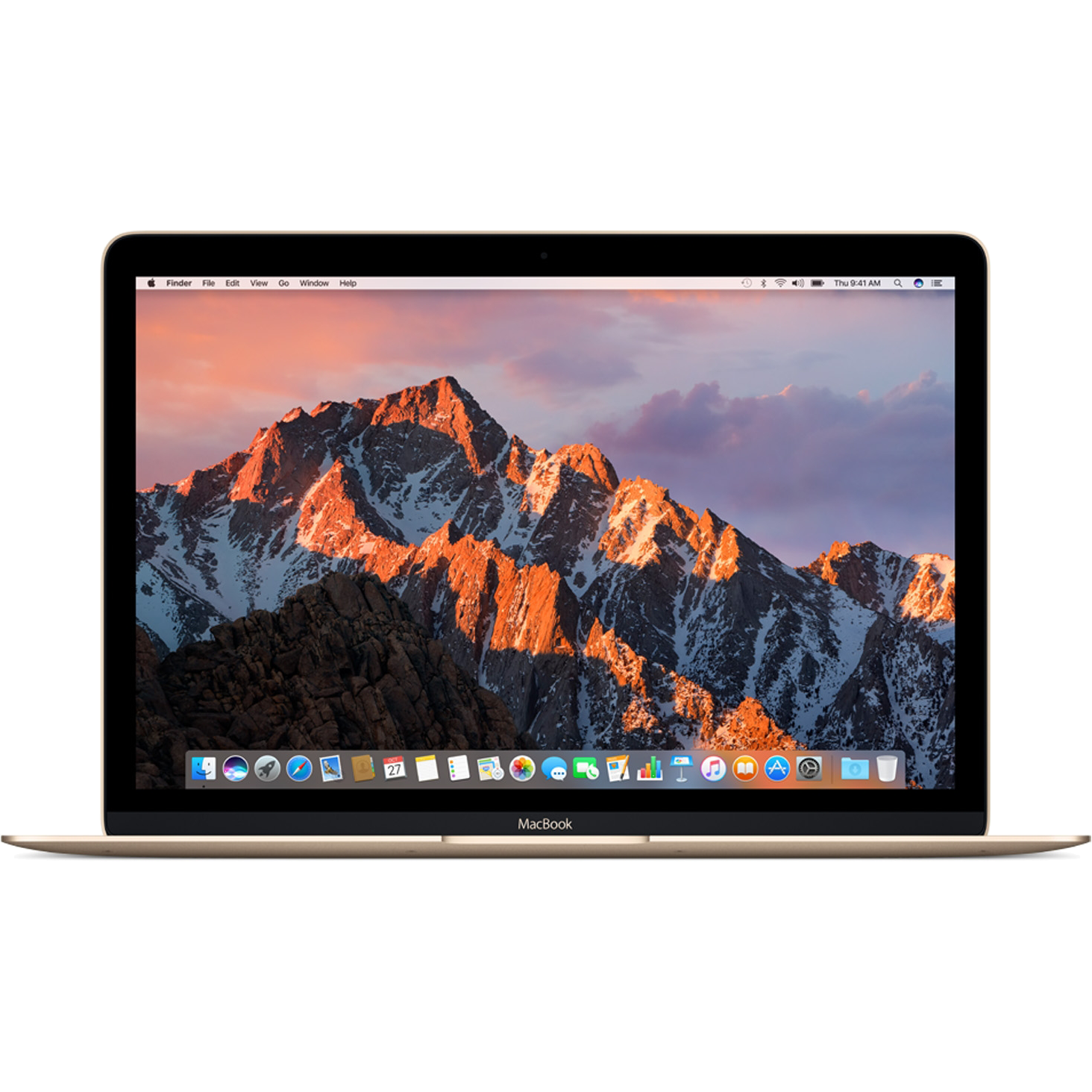 "Ноутбук Apple MacBook 12"" Retina 256 GB Flash Gold (MNYK2), картинка 2"
