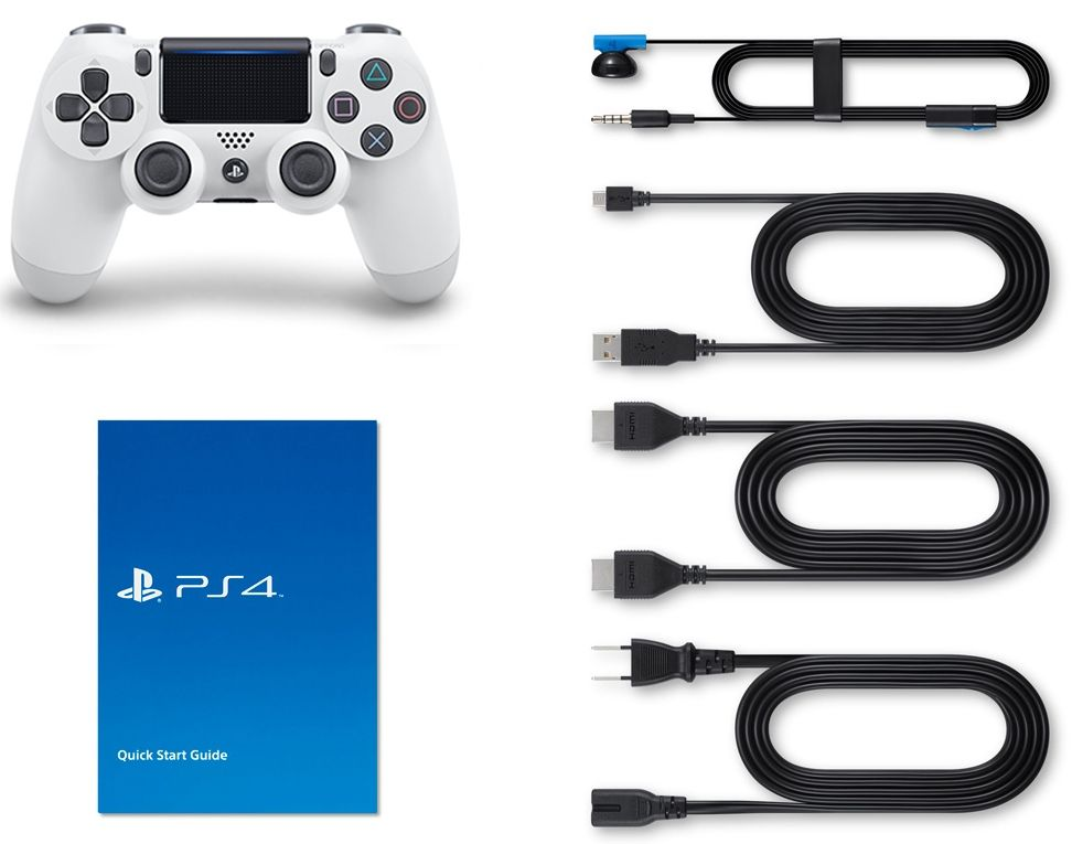 Sony PlayStation 4 Slim 500Gb White, картинка 3