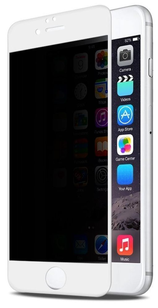 BLUEO HD Privacy Tempered Glass 7 - White