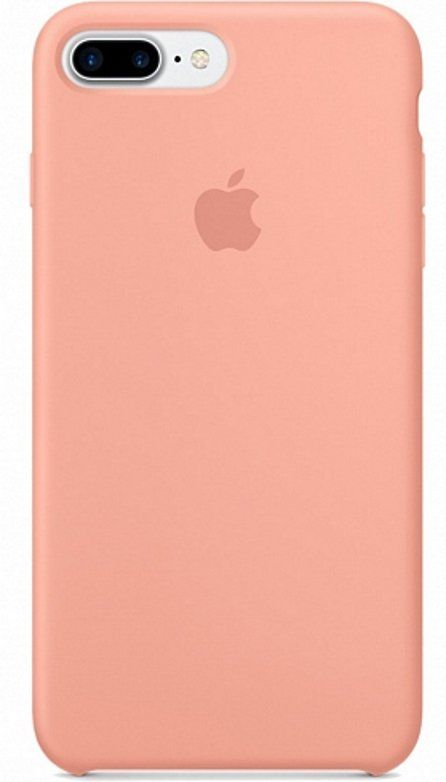 Apple iPhone 7 Silicone Begonia Red
