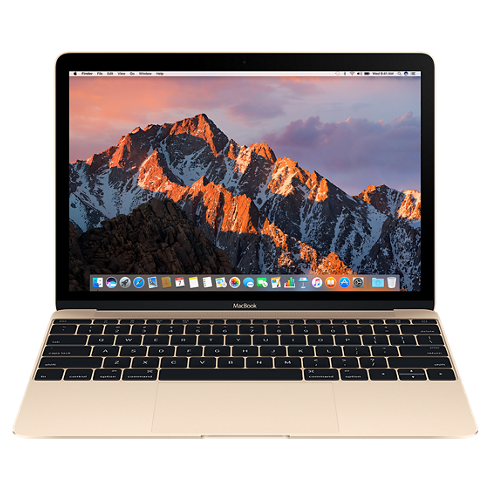 "Ноутбук Apple MacBook 12"" Retina 256 GB Flash Gold (MNYK2), картинка 1"