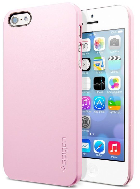 SGP Case Ultra Thin Air iPhone 5 - Pink, картинка 1