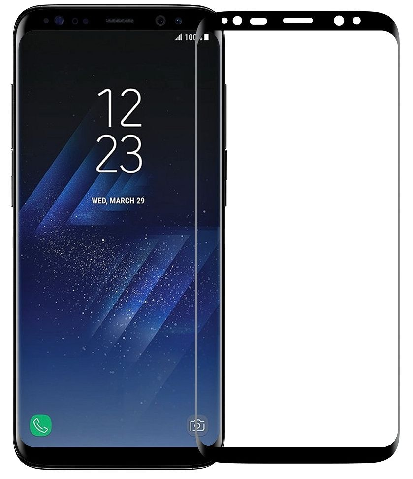 Screen Protector Clear Samsung S8+ Black
