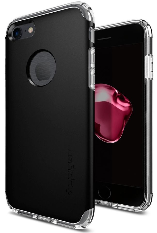SGP Чехол iPhone 7 Hybrid Armor Black