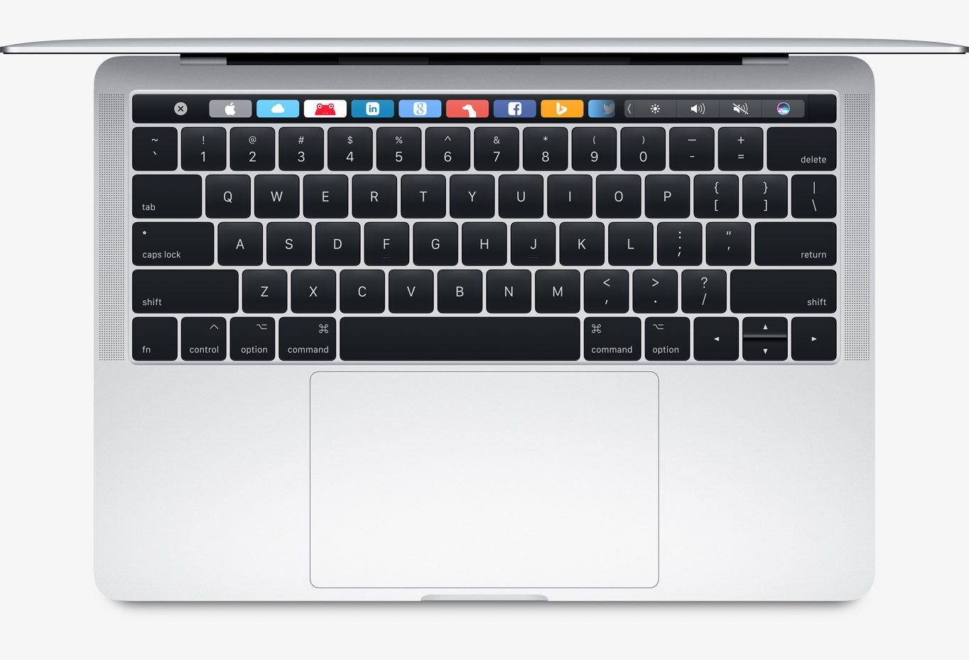 "Apple MacBook Pro 13"" Touch Bar 256 GB SSD Silver (MPXX2), картинка 4"