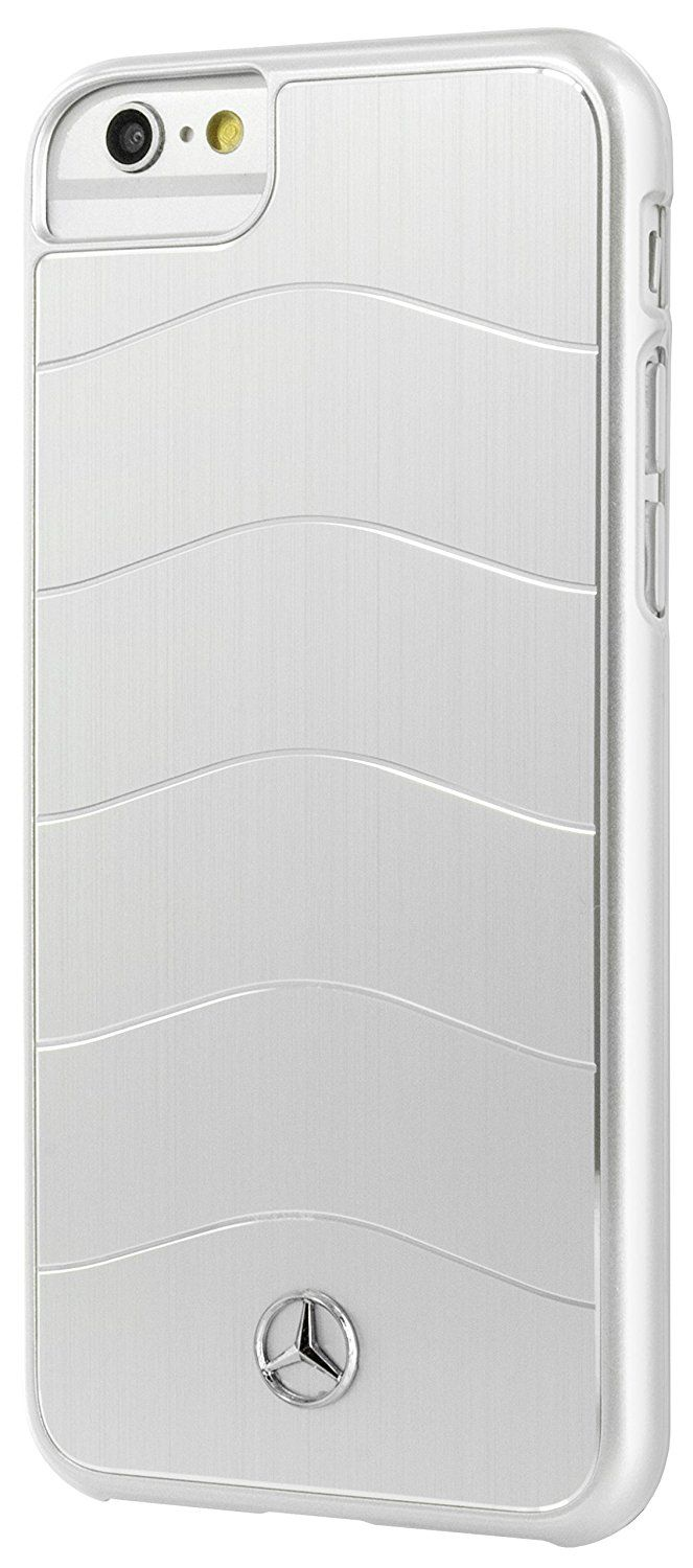 Mercedes WAVE VIII iPhone 7 Brushed Aluminum Hard Case Silver, картинка 1
