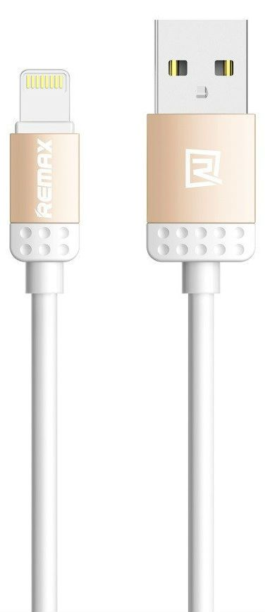 REMAX Lovely Data Lightning Cable 1.0m - Silver, картинка 1