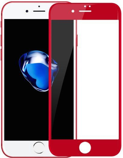 BLUEO 3D Tempered Glass 7 Plus - Red, картинка 1