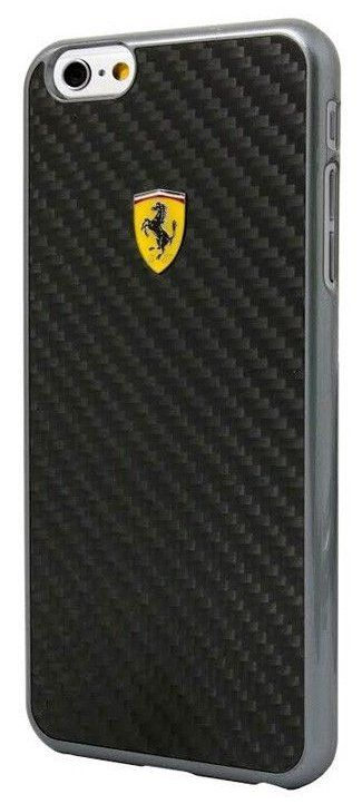 Ferrari iPhone 6 Plus Formula One Hard Real Carbon - Black, картинка 1